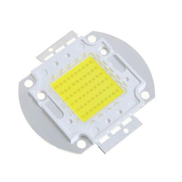 60W 7000K Cool White 4500LM LED Emitter Metal Plate - 30~36V