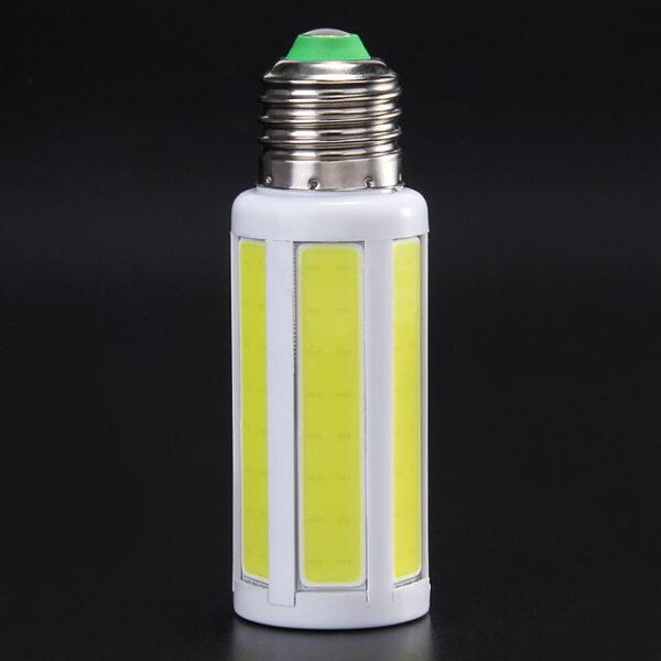 E27 220V 5W 600Lm Warm White COB LED Corn Light Bulb