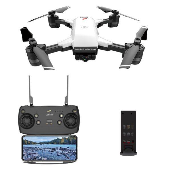 JDRC JD-20 1080P RC Drone RTF White Two Battery