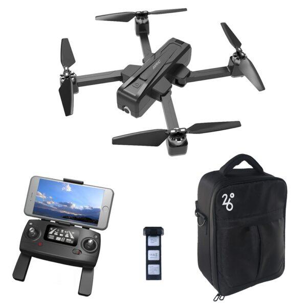 JJRC X11 2K 5G WIFI FPV GPS Foldable RC Drone Two Batteries Black