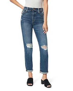 Joe's Jeans The Niki Ripped Boyfriend Jeans in Banjo