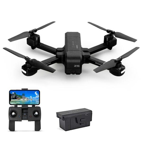 SJRC Z5 GPS 5G WiFi RC Drone RTF Black Two Battery