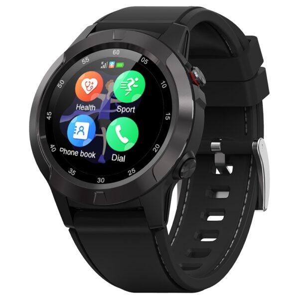 MAKIBES M4C Smart Watch GPS Bluetooth Heart Rate Monitor Black