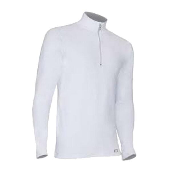 PolarMax 4-Way Stretch Mock Zip Mens Long Underwear Top