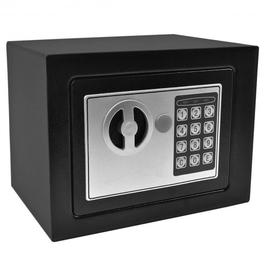 Small Digital Electronic Safe Box-Black