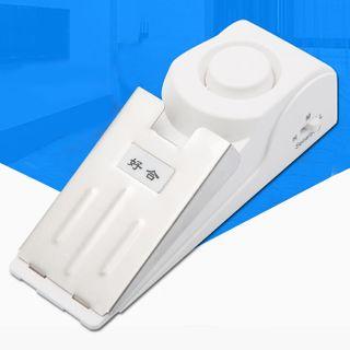 Travel Anti Theft Door Alarm White - One Size