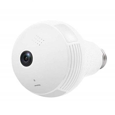 960P Wireless Panoramic IP Camera 360 Degree 3D VR Bulb WIFI Surveillance