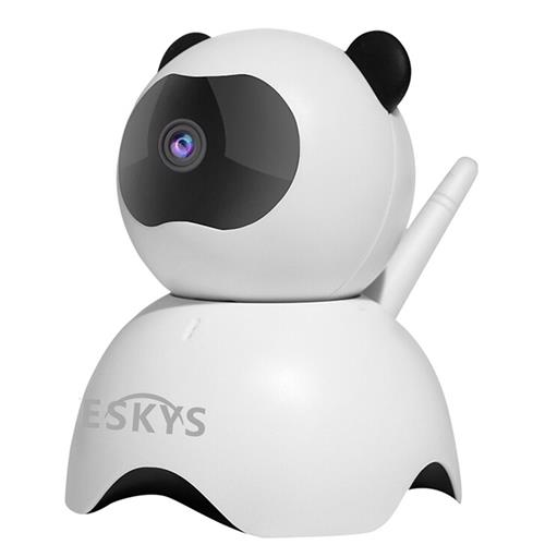 VESKYS C130 Panda 960P Smart WiFi IP Camera White
