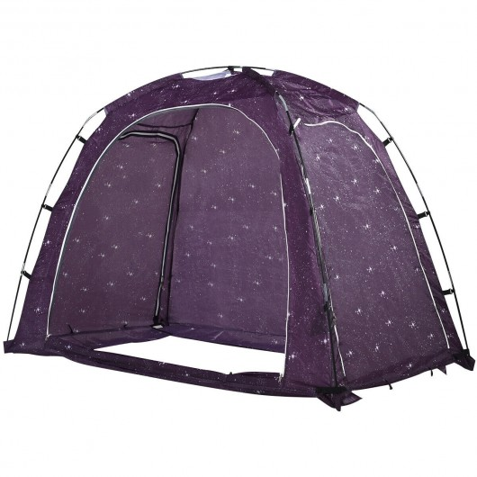 Bed Tent Indoor Privacy Play Tent on Bed with Carry Bag